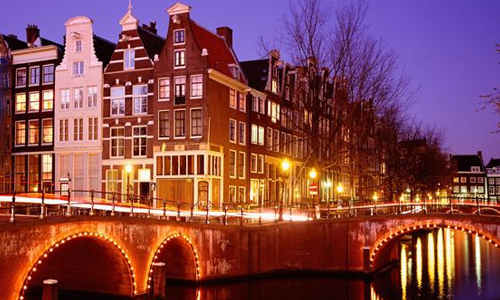 canaux amsterdam noel