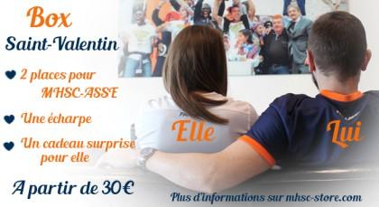 Box Saint Valentin Montpellier